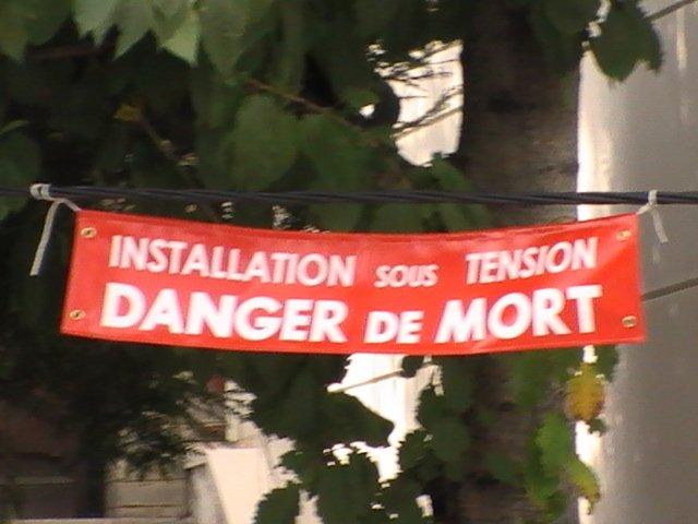 danger rue lavoisier