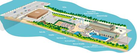 Puteaux en plage du 7 juillet au 12 ao t 2012 puteaux for Piscine du palais des sports a nanterre nanterre